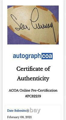 007 James Bond Sean Connery signed FRAMED Display AFTAL UACC ACOA Authenticated
