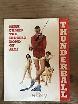 007 James Bond Thunderball Synopsis Original Jahr 1965 Sean Connery