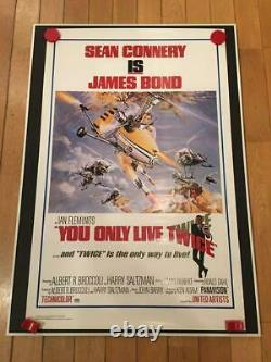 007 You Only Live Twice Movie Poster 1pc James Bond #5 Sean Connery 1967 England