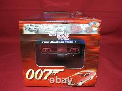 118 Ford Mustang Mach 1 James Bond Diamonds Are Forever Sean Connery 007 Ertl