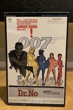 12 1/6 SIDESHOW Collectibles Dr. No James Bond 007 Plus older Sean Connery head