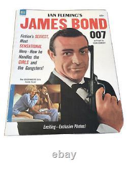 1964 Dell JAMES BOND 007 Magazine Sean Connery MINT