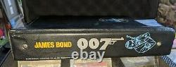 1966 James Bond 007 Sean Connery ICONIC TARGET LOGO 3 RING BINDER VERY RARE