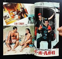 1966 James Bond 007 Thunderball Sean Connery Claudine Auger JAPAN Book MEGA RARE