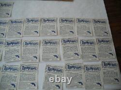 1966 Somportex Thunderball 007 Sean Connery James Bond Partial Set Of 66 Cards