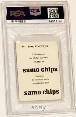 1968 Sean Connery (james Bond) Psa 6 Rare 1/1 Samo Chips Highest Grade