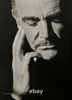 1989 Vintage SEAN CONNERY Movie Actor By HERB RITTS James Bond Photo Art 16x20