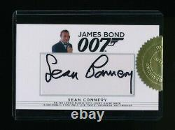2017 James Bond Archives SEAN CONNERY autographed / signed Rittenhouse auto card