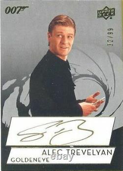 2019 James Bond Collection SPA-SB Sean Bean Alec Trevelyan Autograph Card 32/99
