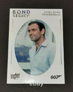 2019 Upper Deck James Bond Collection Legacy Tier 3 #BL-40 Sean Connery SSP