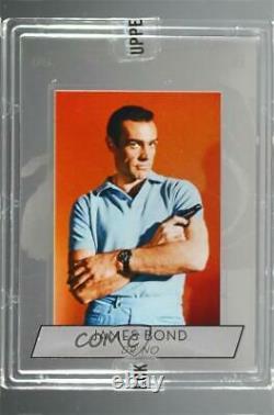 2019 Upper Deck James Bond Collection Premium Silver Sean Connery as #S-1 c6q