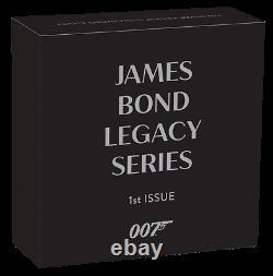 2021 Tuvalu $1 James Bond 007 Legacy Sean Connery 1 oz Silver Coin 5,000 Made