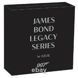 2021 Tuvalu $1 James Bond 007 Legacy Sean Connery 1 oz Silver Coin Last One