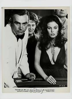 (24) Orig'71 SEAN CONNERY as James Bond. NSS Still Set DIAMONDS ARE FOREVER