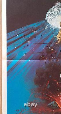 AFFICHE CINEMA Les diamants sont éternels James Bond 007 1971 Sean Connery
