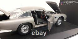 ASTON MARTIN DB5 James Bond 007 GOLDFINGER Sean Connery NEW Autoart 118'65
