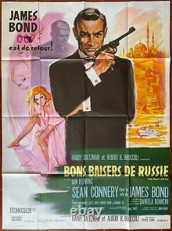 Affiche BONS BAISERS DE RUSSIE From Russia with Love JAMES BOND Sean Connery