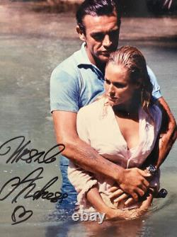 Authentic Sir Sean Connery and Ursula Andress Signed Autographed Display Dr No