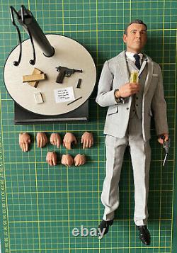Big Chief studios James Bond Sean Connery Goldfinger 1/6 figure First Edition Ex
