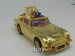 Corgi James Bond 007 Gold-plated Aston Martin Db5 Mib Gold Finger Sean Connery