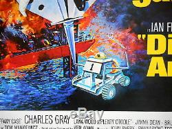 DIAMONDS ARE FOREVER MOVIE POSTER Sean Connery as James Bond Las Vegas 1971