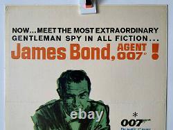 DR NO 1962 Original U. S 14x36 Insert movie poster Sean Connery James Bond 007