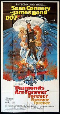 Diamonds Are Forever Sean Connery As James Bond 1971 3-sheet
