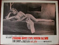 FROM RUSSIA WITH LOVE, Sean Connery as James Bond. From the Ian Fleming novel