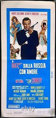 From Russia With Love Italian Locandina Movie Poster James Bond Sean Connery