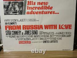 From Russia with Love James Bond Sean Connery Original Movie Poster 1980 27 41