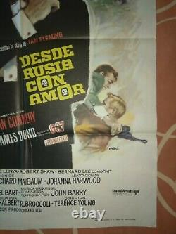 From Russia with love Spanish Re-release 1974 James Bond, Sean Connery