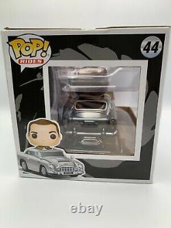 Funko Pop! Rides 44 James Bond Driving Aston Martin 007 Goldfinger Sean Connery