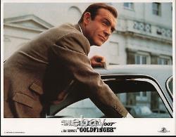 GOLDFINGER original lobby card SEAN CONNERY/JAMES BOND 11x14 movie poster