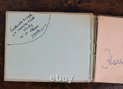 Genuine Vintage 1960s SEAN CONNERY -James Bond 007- Autograph with COA