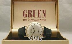 Gruen Precision 510 James Bond 007 Sean Connery Vintage 1950's Mens Watch. 33mm