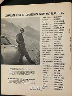 IAN FLEMING'S JAMES BOND 007 Movie Actor Sean Connery VINTAGE 1964 DELL MAGAZINE
