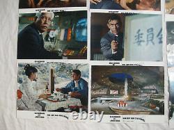 JAMES BOND 007 MAN LEBT NUR ZWEIMAL -24 Aushangfotos Lobbycards- SEAN CONNERY