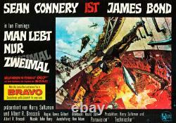 JAMES BOND 007 MAN LEBT NUR ZWEIMAL A00 XXL Poster Filmplakat Sean Connery
