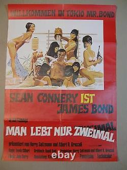 JAMES BOND 007 MAN LEBT NUR ZWEIMAL Filmplakat Poster SEAN CONNERY WA (#1)