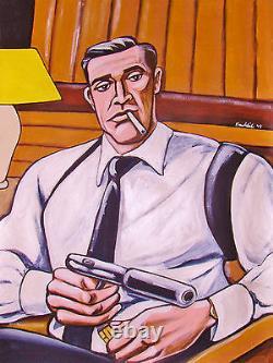 JAMES BOND 007 PRINT poster sean connery dr no movie film spy walter ppk pistol