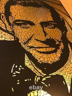 JAMES BOND 007 Regular poster print -GOLD Edition X/200 TODD SLATER Sean Connery