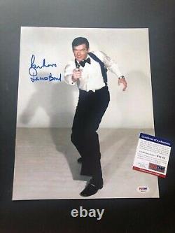 JAMES BOND 007 all six signed autograph SEAN CONNERY, ROGER MOORE, DANIEL CRAIG