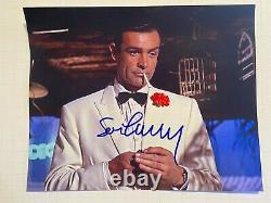 JAMES BOND 007 photo signed by SEAN CONNERY Goldfinger auto with COA