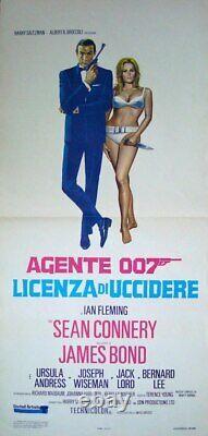 JAMES BOND DR. NO Italian Locandina movie poster R71 SEAN CONNERY URSULA ANDRESS