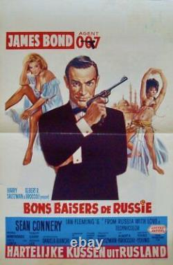 JAMES BOND FROM RUSSIA WITH LOVE Belgian movie poster R72 SEAN CONNERY 007