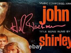 JAMES BOND GOLDFINGER record signed SEAN CONNERY, SHIRLEY EATON, HONOR BLACKMAN