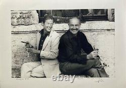 JAMES BOND Sean CONNERY Roger MOORE Photo signed by Ledru