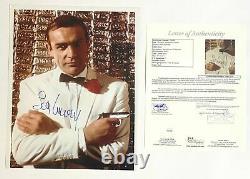 JAMES BOND Signed Autograph 11 x 14 SEAN CONNERY Photograph JSA Authentication
