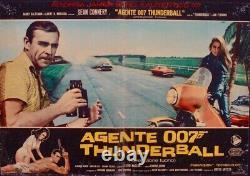 JAMES BOND THUNDERBALL Italian fotobusta movie poster 3 SEAN CONNERY 1965