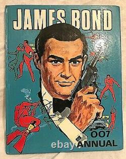 James Bond 007 Annual 1966 Sean Connery, Thunderball Very Nice Copy, Scarce